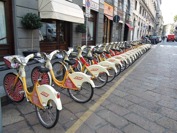 Milan, bike sharing